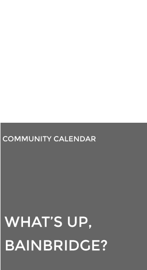 Bainbridge Island Chamber of Commerce Calendar