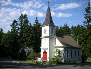 Port Madison Lutheran Church on Bainbridge Island