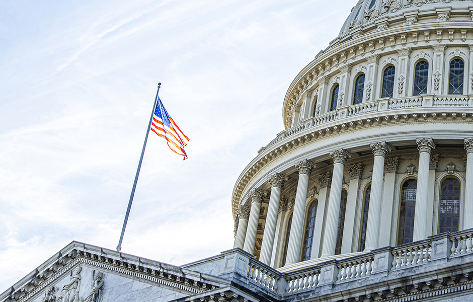 US Capitol American Rescue Plan Act 2021