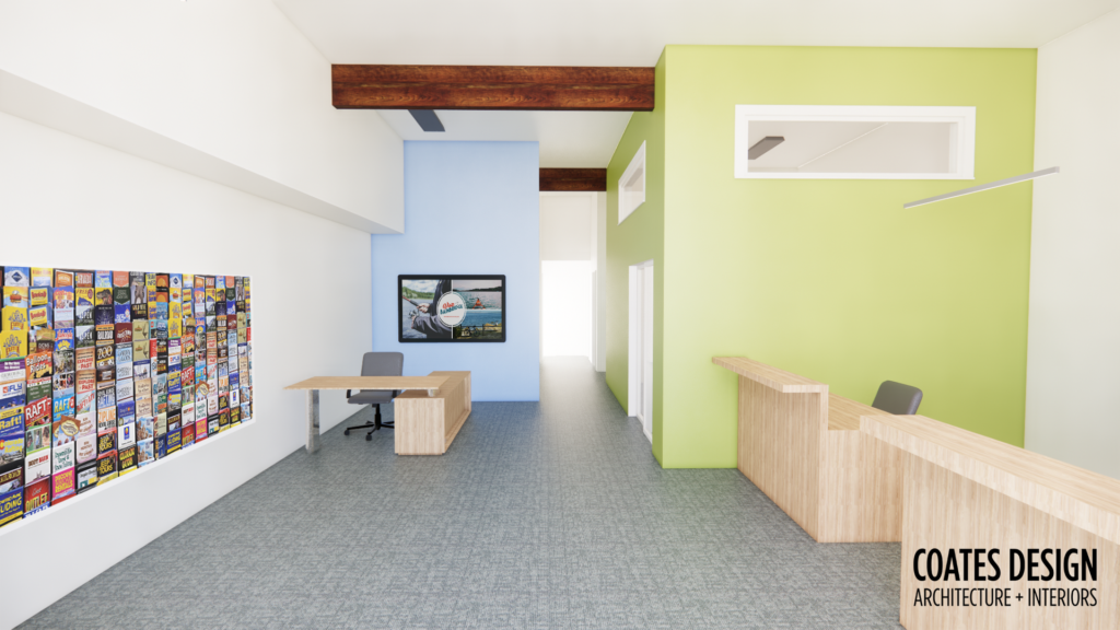 Bainbridge Island Chamber of Commerce 2021 Remodel - Coates Design Architecture Interiors