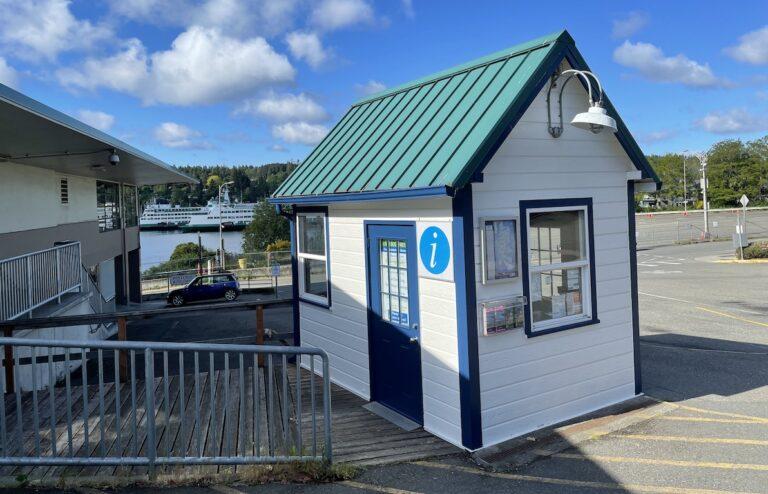 Bainbridge Island Information Kiosk Ferry Terminal Chamber of Commerce