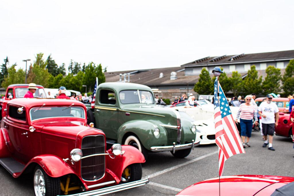 Bainbridge Island Grand Old 4th 2021 Classic Car Cruise Parade