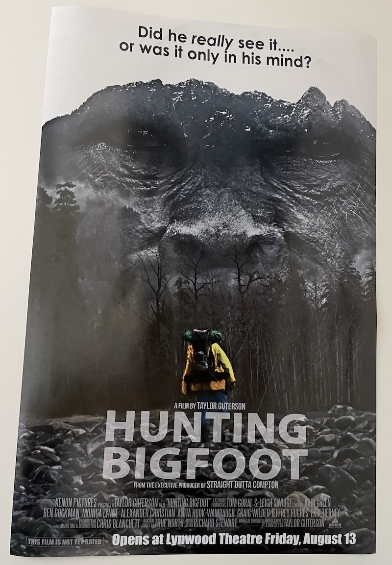 Hunting Bigfoot Lynwood Center