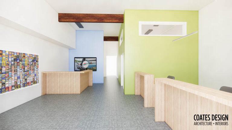 Bainbridge Island Chamber of Commerce Renovation Plan Coates Design