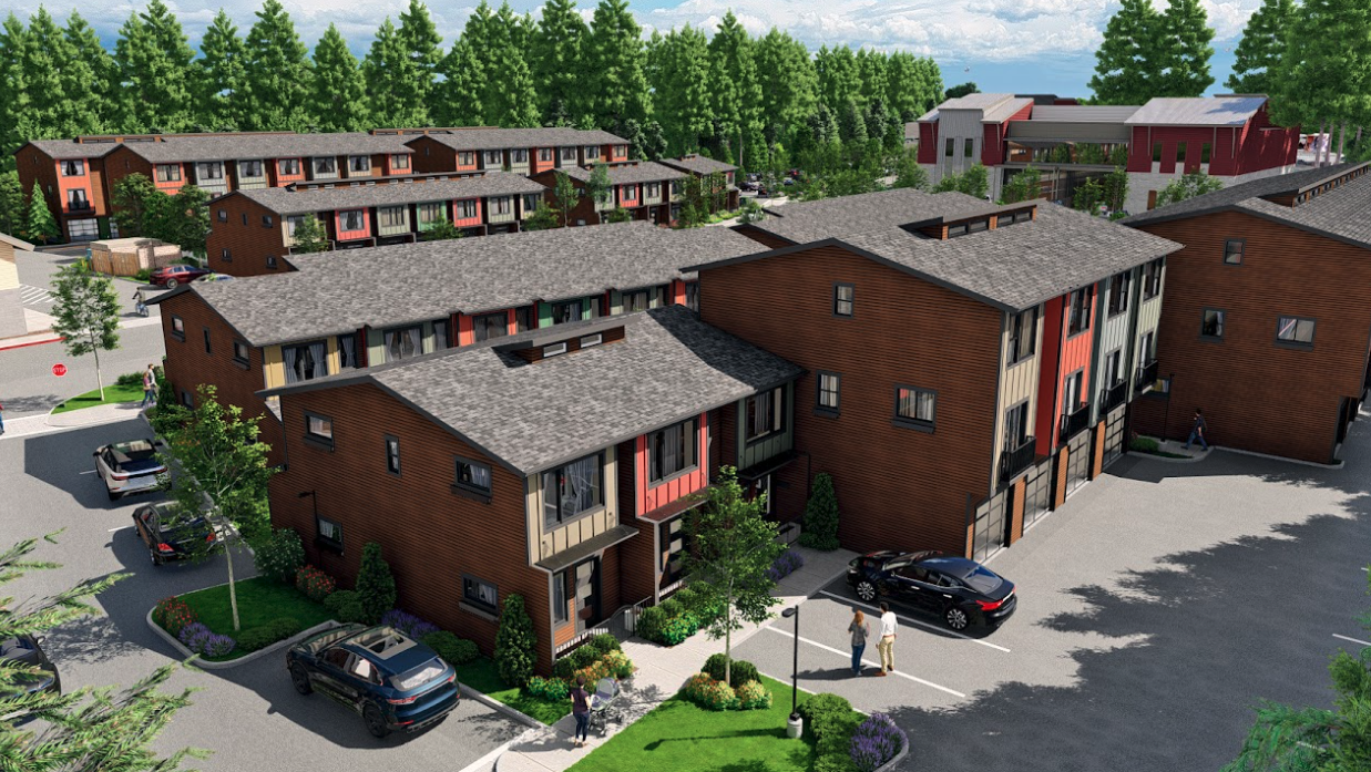 Wintergreen Townhomes Project